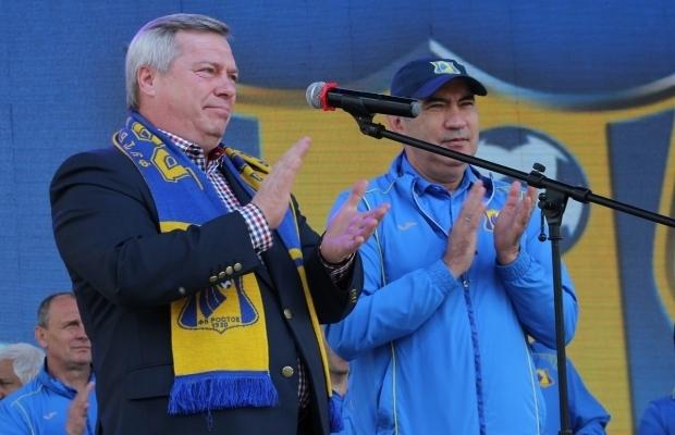 ФК «Ростов» собирается поднять заработную плату Бердыеву, чтобы онидальше тренировал клуб